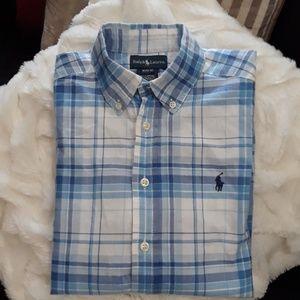 Ralph Lauren polo button down shirt size medium 10